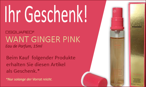 Want Ginger Pink
