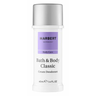 Bath & Body Deodorant Cream 40ml