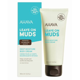 Deadsea Mud - Leave on Muds Deep Moisture Body Cream 100ml