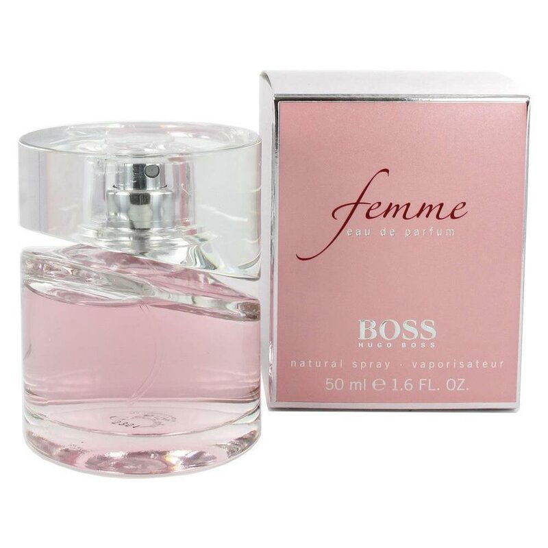 boss femme edp 50ml von hugo boss f r 51 8 kaufen. Black Bedroom Furniture Sets. Home Design Ideas